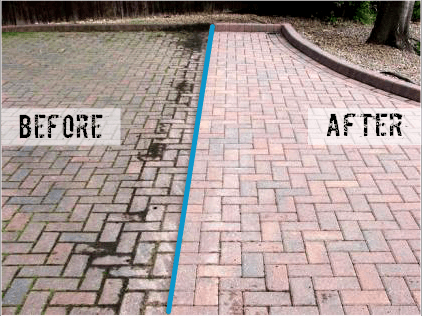 Driveway Cleaning and Pressure Wash
